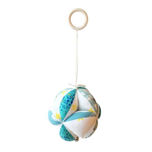 Мячик Такане голубой