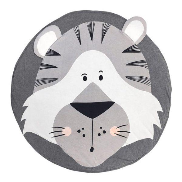 Детский коврик для малыша с тигром