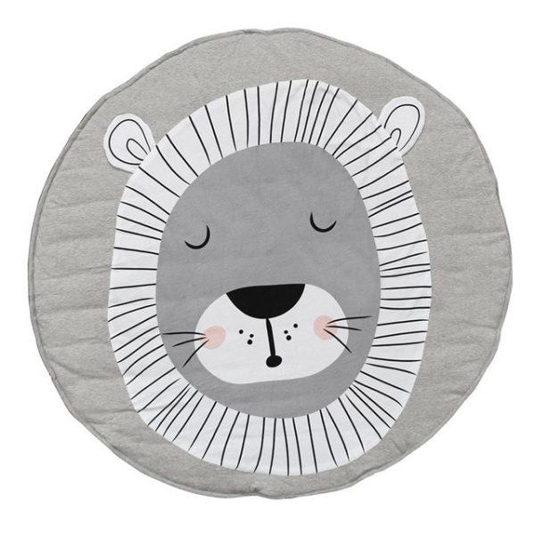 Детский коврик для малыша со львом