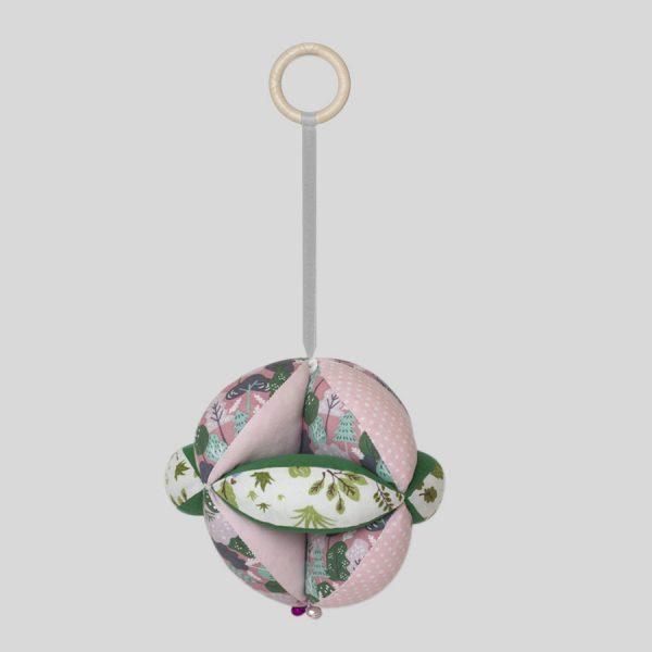Зелено-розовый мяч Такане