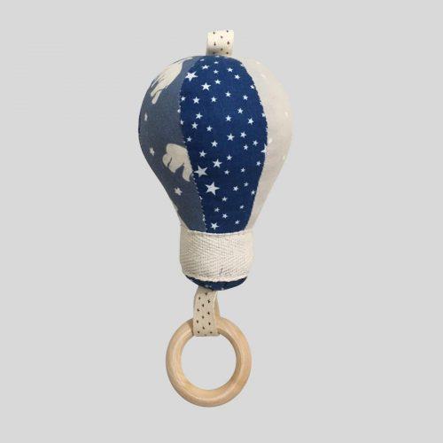 Мягкая игршука-повдес воздушный шар синий