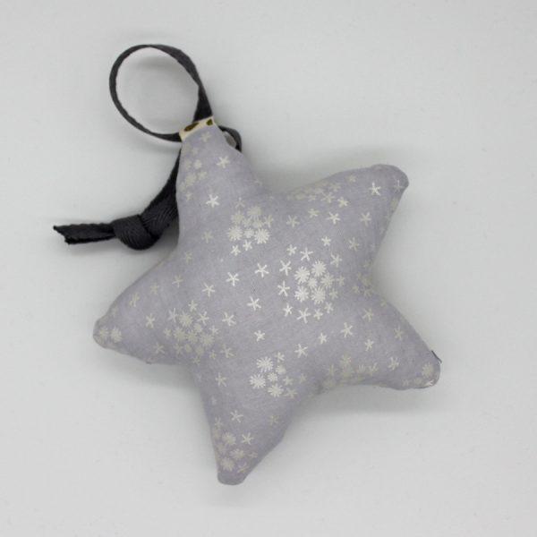 Мягкая игршука-повдес серебряная звезда