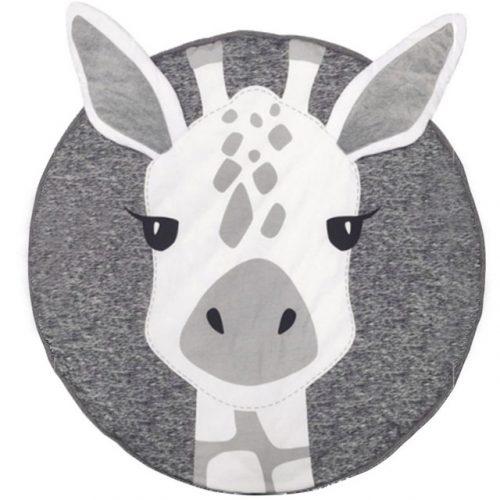 Детский коврик для малыша с жирафом