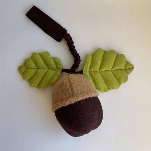 Мягкая игрушка подвес на мобиль желудь
