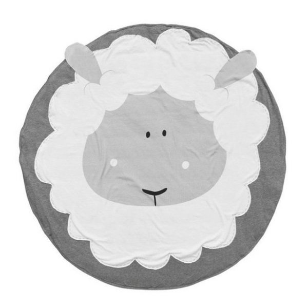 Детский коврик с изображением овечки