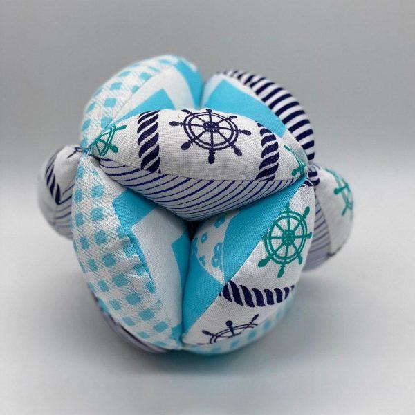 Мячик такане морской голубой