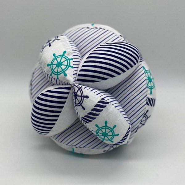 Мячик такане морской полосатый