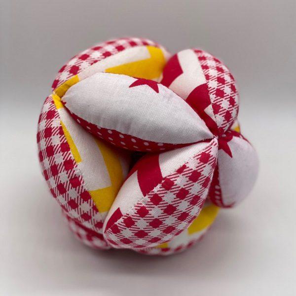 Мячик такане красно-желтый