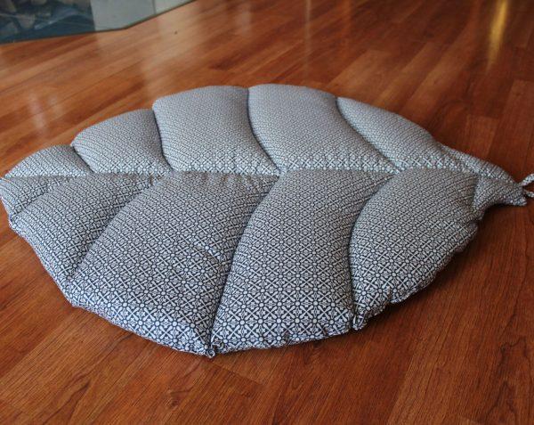Игровой коврик листик темно-синий
