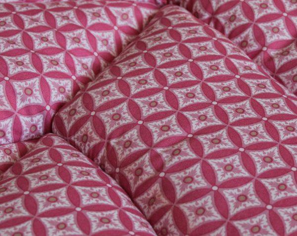 Игровой коврик листик красный