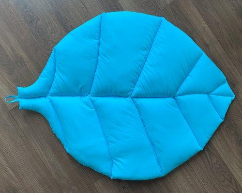 Коврик-листик ярко голубой