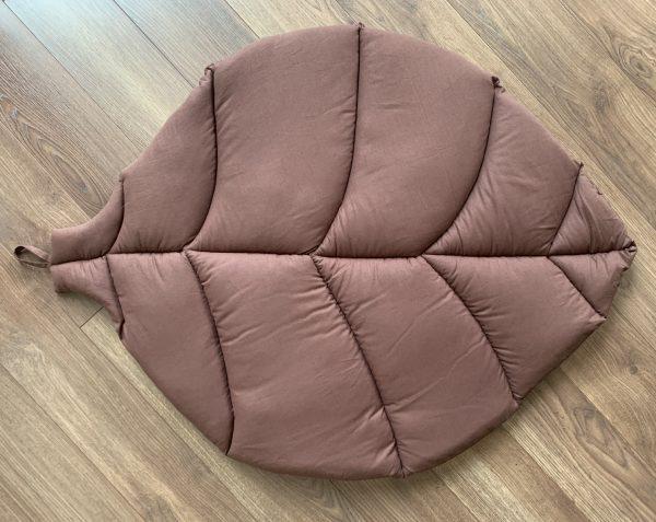 Коврик-листик коричневый