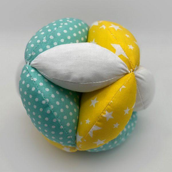 Мячик Такане желто-зеленый