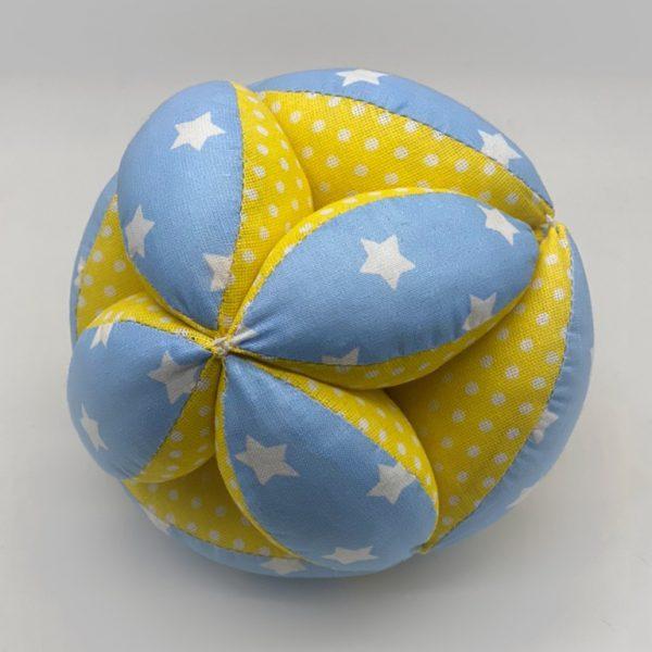Мячик Такане сине-желтый