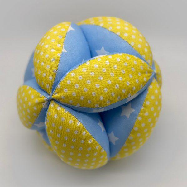 Мячик Такане желто-синий