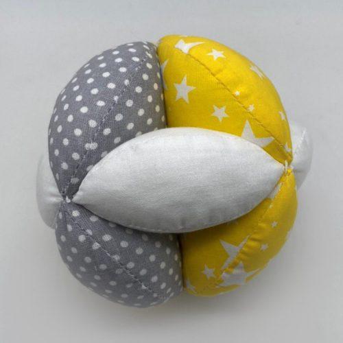 Мячик Такане желто-серый