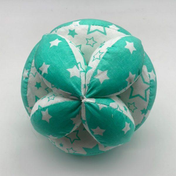 Мячик Такане зеленый со звездами