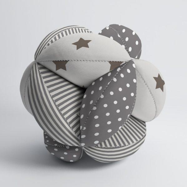 Мячик Такане серый