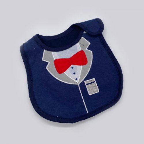 Нагрудник синий пиджачок
