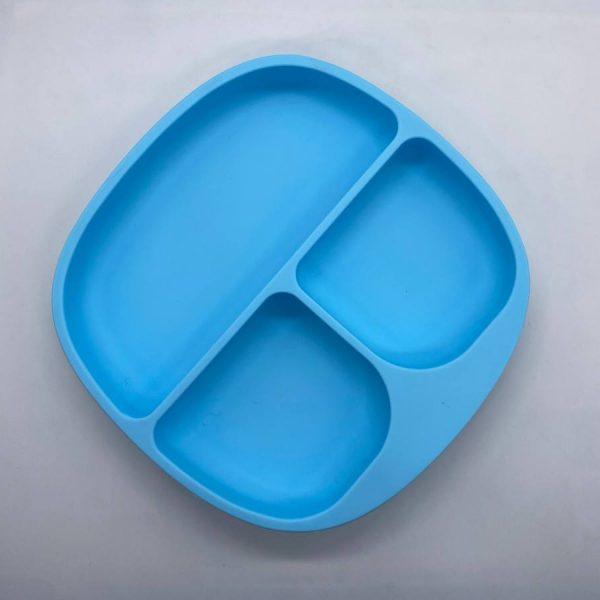 Силиконовая тарелка с делениями